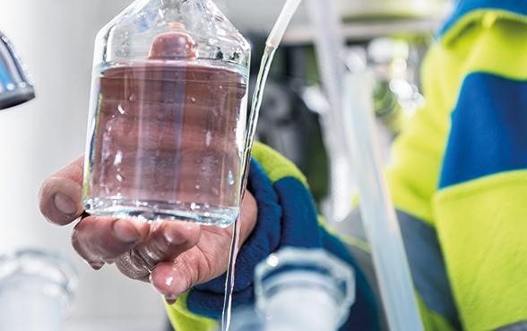 plusieurs métabolites du chlorothalonil dépassent la concentration admise dans les eaux souterraines dans de vastes parties du Plateau et sont ainsi à l'origine d'une pollution considérable