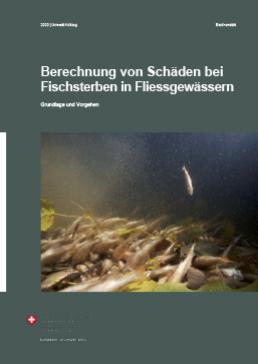 Berechnung von Schäden bei Fischsterben in Fliessgewässern