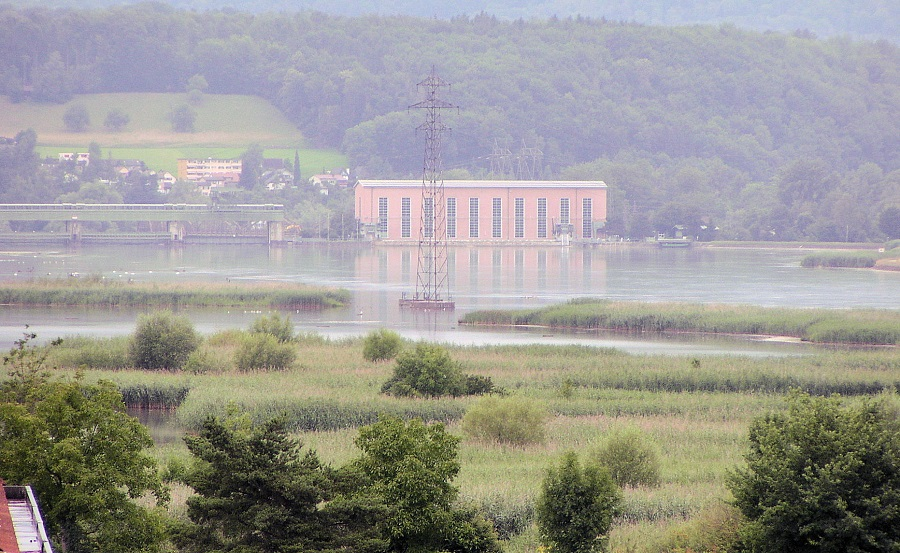 Stausee Klingnau – Beschwerde gutgeheissen, keine Schadstoffeinleitung in den Rhein erlaubt