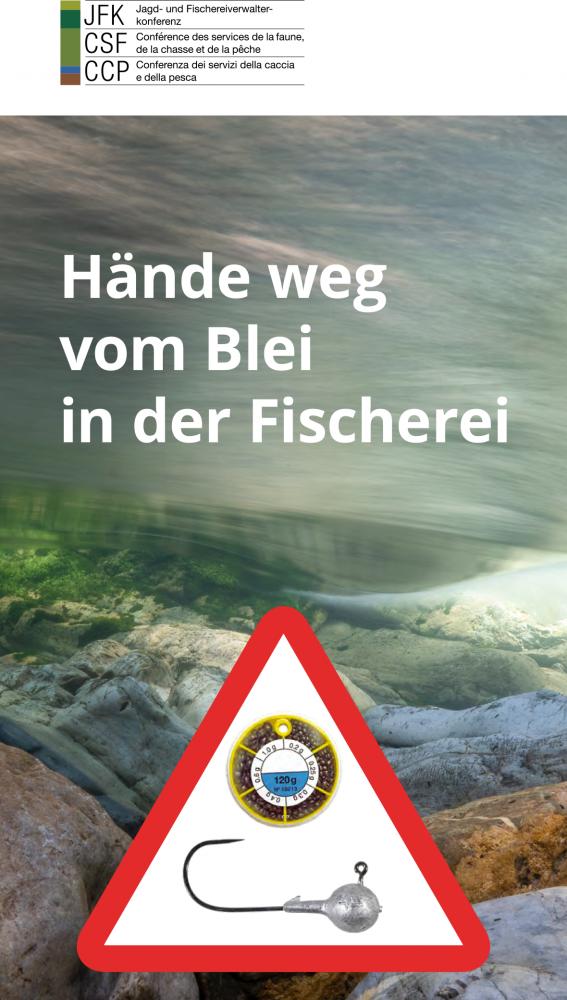 Neuer Ratgeber: Hände weg vom Blei in der Fischerei